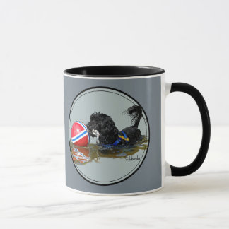 Portuguese Water Dog 2 with Buoy Ball Mug