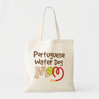 Portuguese Water Dog Breed Mom Gift Tote Bag