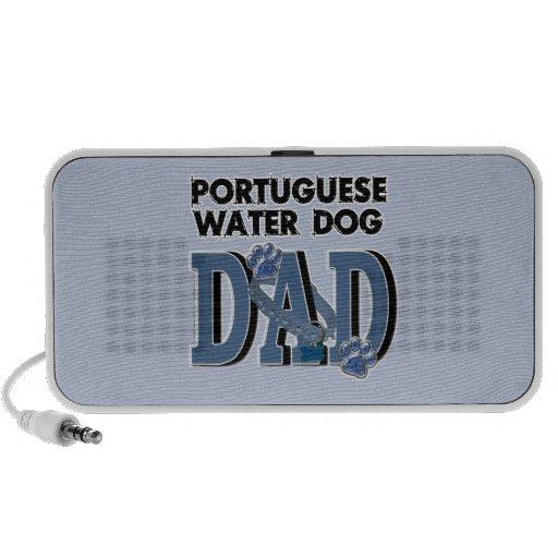 Portuguese Water Dog DAD Mini Speakers