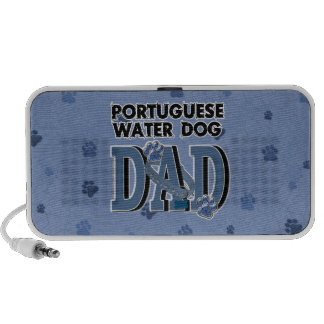Portuguese Water Dog DAD iPhone Speaker