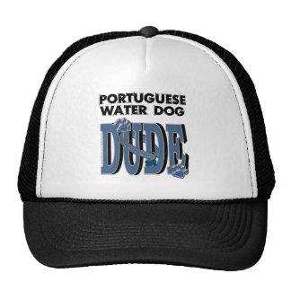 Portuguese Water Dog DUDE Trucker Hat