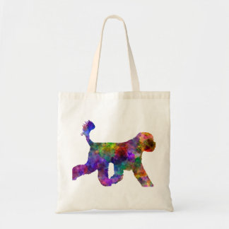 Portuguese Water Dog in watercolor Tote Bag