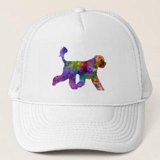 Portuguese Water Dog in watercolor Trucker Hat