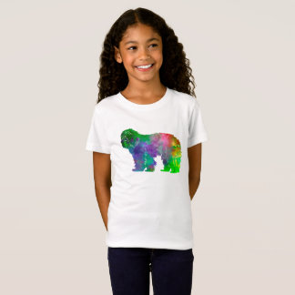 Portuguse Sheepdog in watercolor T-Shirt
