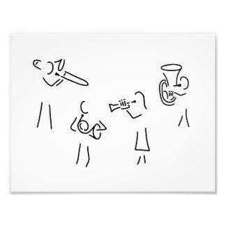 posaunist trompeter more blechblaeser