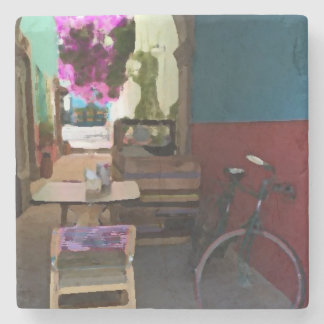 Posavaso bycicle stone coaster