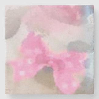 Posavaso pink stone coaster