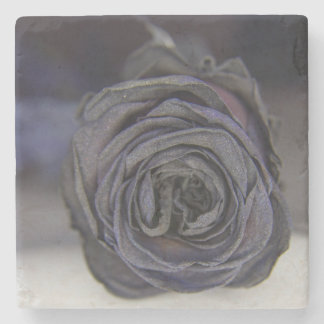 Posavasos of STONE, NEGRA ROSE Stone Coaster