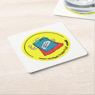 Posavasos wwwoladora-I Square Paper Coaster