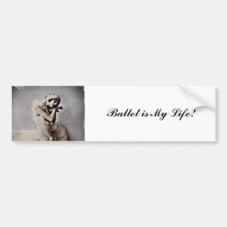 Posed en Pointe Bumper Sticker