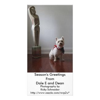 Posed Photo Greeting Card