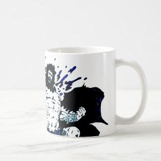 Poseidon! Dark black and blue Coffee Mug