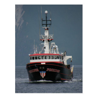 Poseidon, Fishing Trawler in Dutch Harbor, AK Postcard