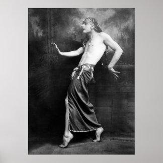 Poser: 1910 poster