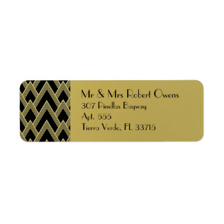 Posh Elegance Return Address Label