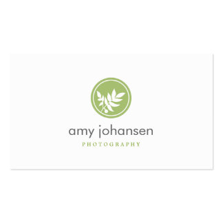 Posh Leaves Business Card