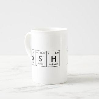 PoSH Periodic Table Elements Word Chemistry Symbol Tea Cup