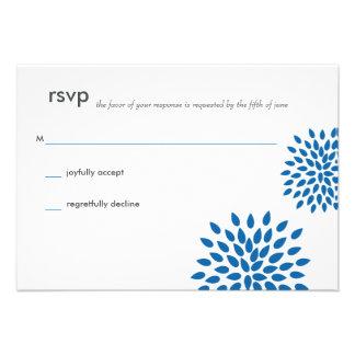 Posh Petals | Cerulean | RSVP Announcement