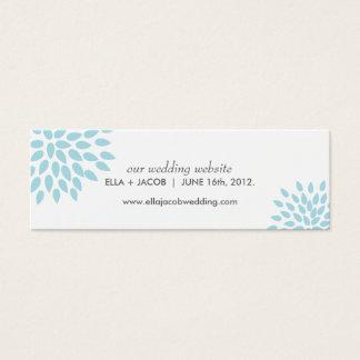 Posh Petals | Twilight | Wedding Website Cards