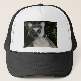 Posing Lemur Trucker Hat