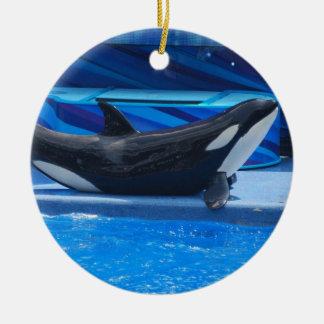 Posing Orca Ornament
