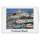 Positano Beach Card