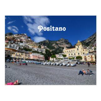 Positano Beach Postcard