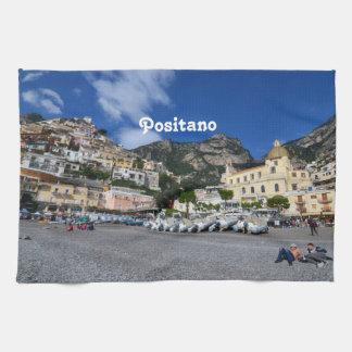 Positano Beach Tea Towel