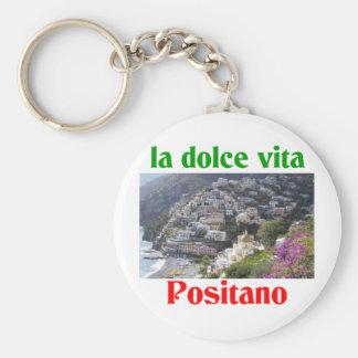 Positano Italy Keychain