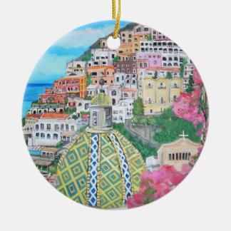 Positano Italy Ornament