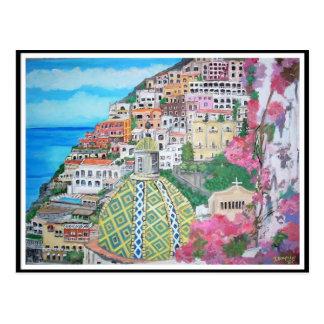 Positano Italy - Postcard