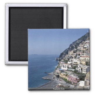 Positano, Italy Square Magnet