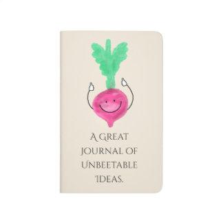Positive Beet Pun - Unbeetable Journal