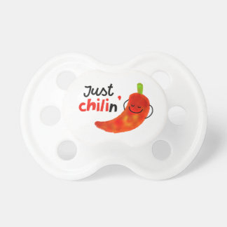 Positive Chili Pepper Pun - Just Chilin Dummy