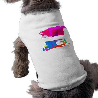 Positive Sleeveless Dog Shirt