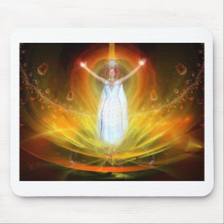 Positive Energy Goddess Mouse Pad