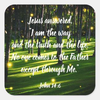 Positive Inspirational Christian Scripture Sticker
