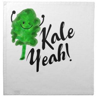 Positive Kale Pun - Kale Yeah! Napkin