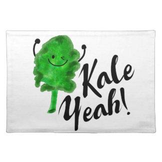 Positive Kale Pun - Kale Yeah! Placemat