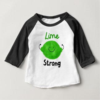 Positive Lime Pun - Lime Strong Baby T-Shirt