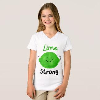 Positive Lime Pun - Lime Strong T-Shirt