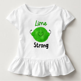 Positive Lime Pun - Lime Strong Toddler T-Shirt