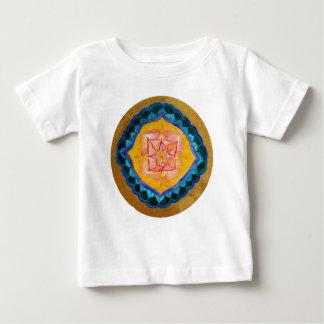 Positive Mandala Baby Fine Jersey T-Shirt, White Baby T-Shirt