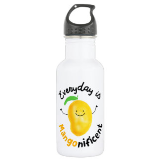 Positive Mango Pun - Everyday is Mangonificent 532 Ml Water Bottle