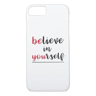 Positive Message Encouragement iPhone 8/7 Case