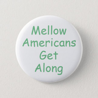 Positive message of unity 6 cm round badge