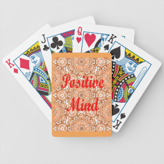 Positive Mind Bicycle Playing Cards