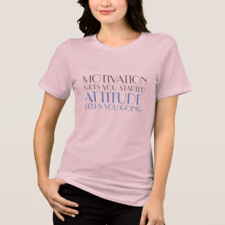 positive mind positive vibes motivation attitude T-Shirt