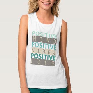 POSITIVE Mind POSITIVE Vibes POSITIVE Life Singlet