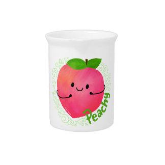 Positive Peach Pun - Peachy Pitcher